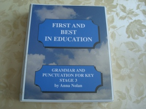 Grammar and Punctuation for Key Stage 3